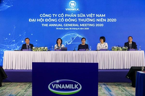 Vinamilk đặt mục tiêu doanh thu năm 2020 đạt 59.600 tỷ đồng