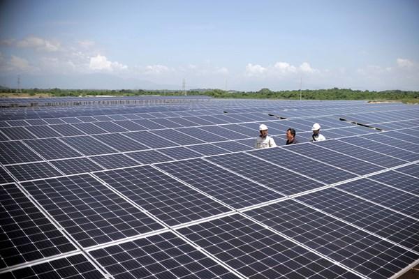Sharp sắp đưa nhà máy điện Mặt Trời ở Việt Nam vào hoạt động