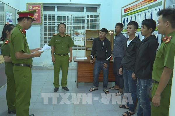 Bắt tạm giam 12 đối tượng trong vụ đánh nhau tại Đắk Lắk