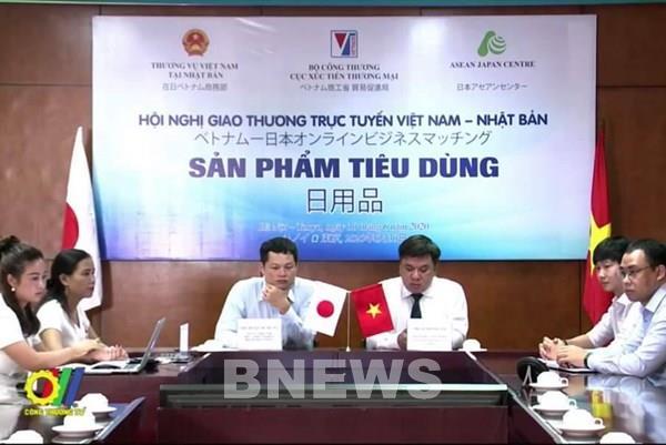 Giao thương sản phẩm tiêu dùng Việt Nam-Nhật Bản