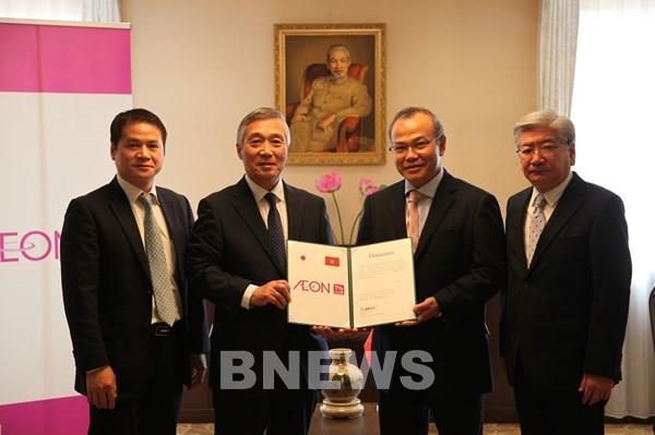 Quỹ AEON 1% Club hỗ trợ du học sinh Việt Nam ở Nhật Bản