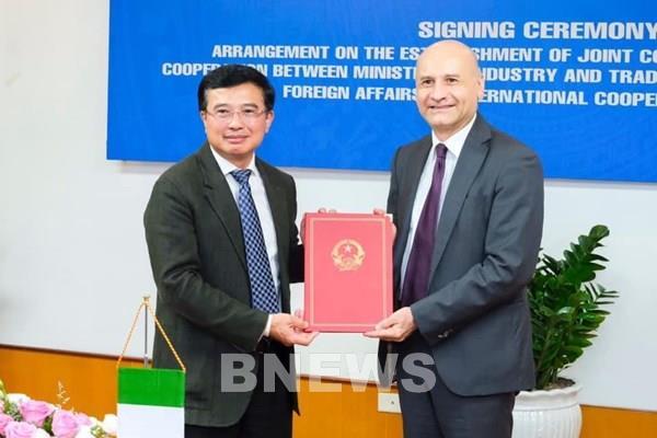 Thành lập Uỷ ban hỗn hợp về hợp tác kinh tế Việt Nam - Italy
