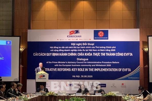 EVFTA thúc đẩy tích cực trong cải cách hành chính