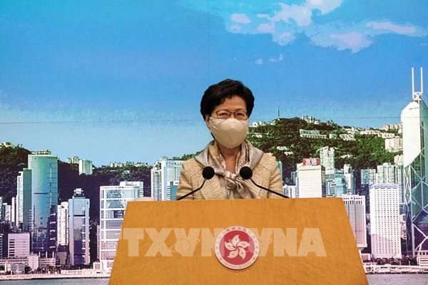 Luật an ninh quốc gia tại Hong Kong (Trung Quốc) chính thức có hiệu lực