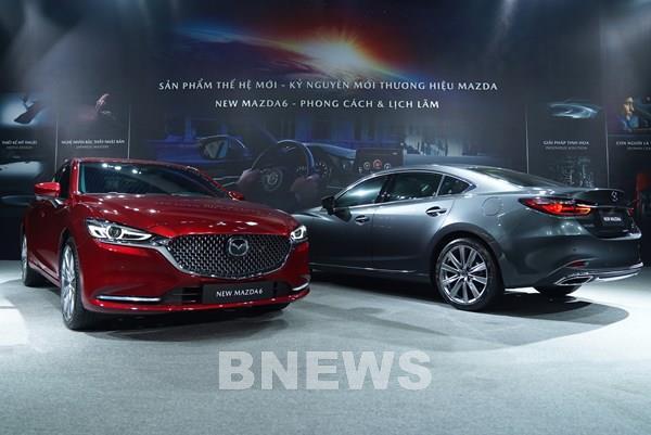 New Mazda6 nhiều nâng cấp có giá khởi điểm từ 889 triệu đồng