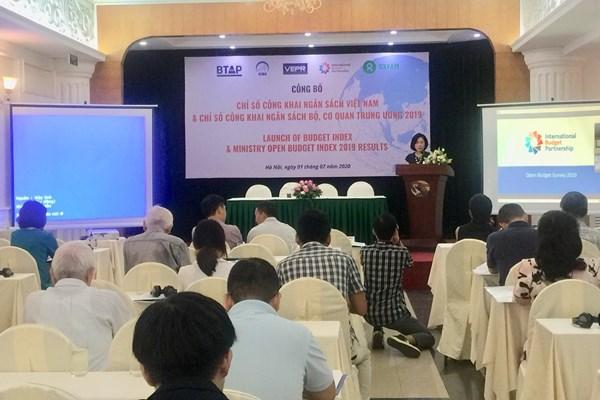 Việt Nam đã đạt được những tiến bộ về công khai minh bạch ngân sách