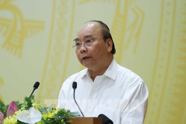 Thủ tướng Nguyễn Xuân Phúc: Tận dụng tốt cơ hội để phục hồi tăng trưởng nền kinh tế