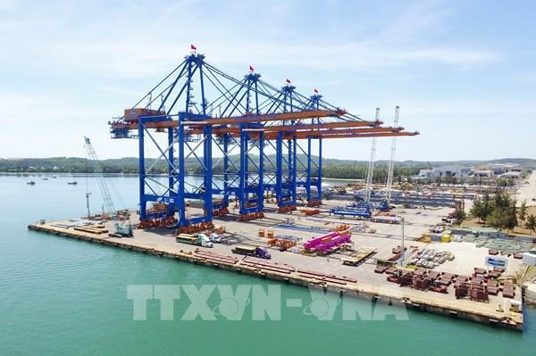 Doosan Vina xuất 2 cẩu trục siêu trường siêu trọng đến cảng quốc tế Gemalink