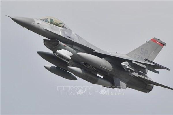 Máy bay chiến đấu F-16 của Mỹ gặp nạn tại Nam Carolina