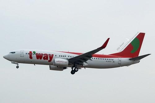 Tway Airlines sắp mở lại đường bay Tp. Hồ Chí Minh-Incheon