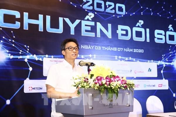 Phó Thủ tướng: Chuyển đổi số không thể tách rời khỏi điều kiện kinh tế