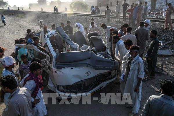 Tai nạn thảm khốc ở Pakistan làm 22 người thiệt mạng