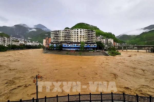 Trung Quốc: Mưa lũ nghiêm trọng ảnh hưởng đến gần 20 triệu người