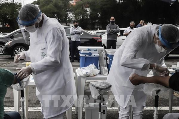 Cập nhật tình hình dịch COVID-19: Brazil tiếp tục là ổ dịch thứ 2 thế giới