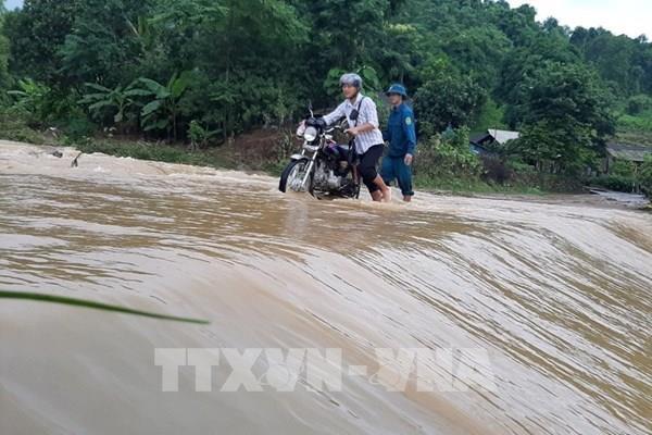 Cảnh báo về nguy cơ mưa lũ ở vùng núi phía Bắc