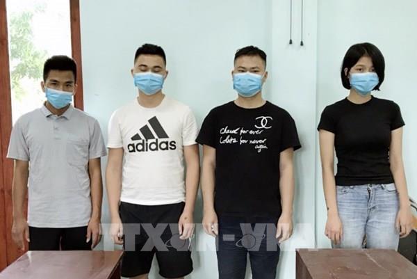 Quảng Ninh: Phát hiện 4 người xuất cảnh trái phép bằng bè mảng gỗ