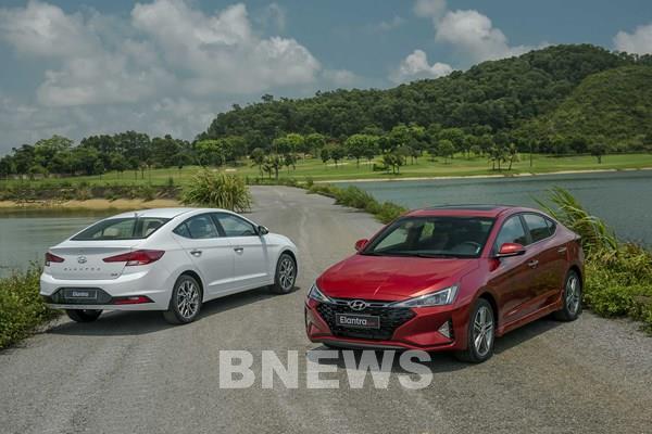 Những điểm giúp sedan Hyundai Elantra thu hút khách hàng