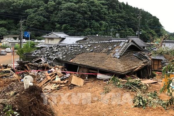 Nhật Bản xem xét tăng hỗ trợ cho các khu vực bị thiệt hại bởi mưa lũ ở Kyushu