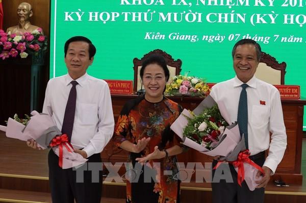 Ông Đỗ Thanh Bình được bầu giữ chức Chủ tịch Ủy ban nhân dân tỉnh Kiên Giang