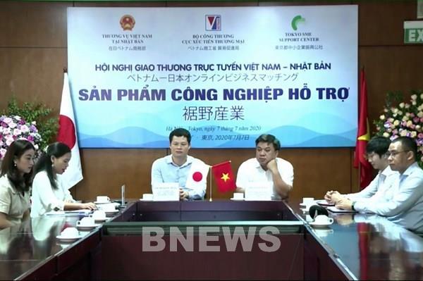 Hội nghị giao thương trực tuyến sản phẩm công nghiệp hỗ trợ Việt Nam-Nhật Bản