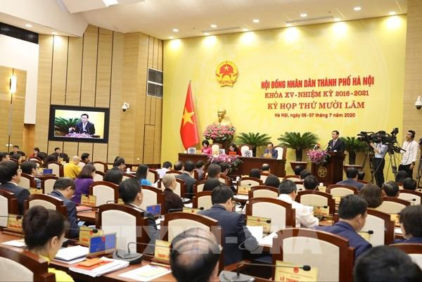 Hà Nội thông qua Nghị quyết về đất đai và mức thu học phí với các cấp học