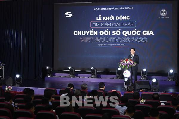 """Khởi động cuộc thi """"Tìm giải pháp chuyển đổi số Việt Nam- Viet Solution 2020"""""""