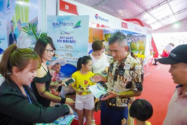 Bamboo Airways thực hiện nhiều ưu đãi tại Ngày hội kích cầu du lịch