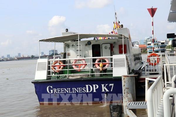 Tp. Hồ Chí Minh đưa vào hoạt động tuyến vận tải du lịch đường thủy đầu tiên