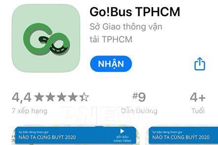 Ra mắt ứng dụng giao thông đa phương thức Go! Bus