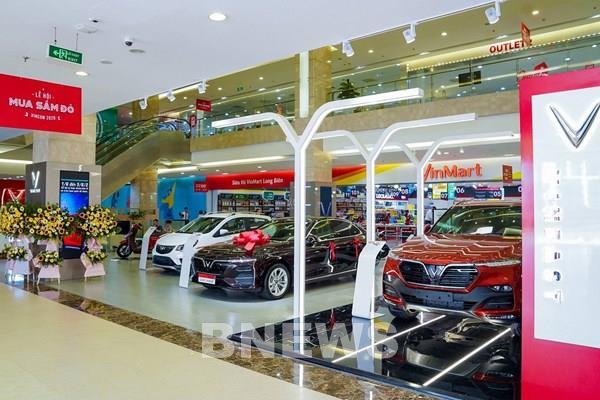 Doanh thu từ ô tô và điện thoại của Vingroup tăng 184,5%