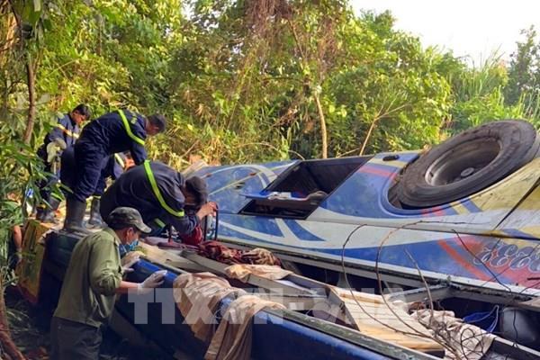 Danh sách nạn nhân vụ tai nạn đặc biệt nghiêm trọng tại Kon Tum