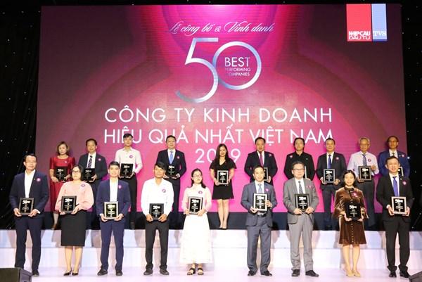 HDBank tiếp tục lọt vào Top công ty kinh doanh hiệu quả nhất Việt Nam