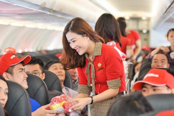 Vietjet Thái Lan mở bán 500.000 vé khuyến mại 50 Baht trên 13 đường bay nội địa