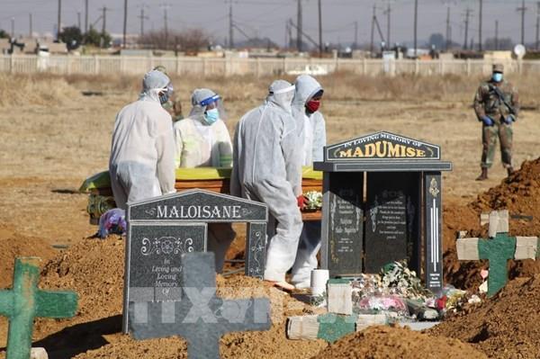 """WHO: Nam Phi có nguy cơ """"suy kiệt khả năng ứng phó"""" do COVID-19"""