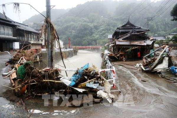 Nhật Bản: Thủ tướng Shinzo Abe thị sát vùng thiên tai