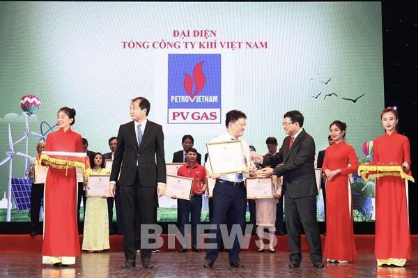 PV GAS nhận Giải thưởng Năng lượng bền vững lần thứ I