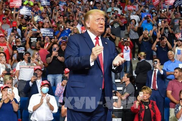 Bầu cử Mỹ 2020: Tổng thống D.Trump thúc đẩy kế hoạch tái tranh cử