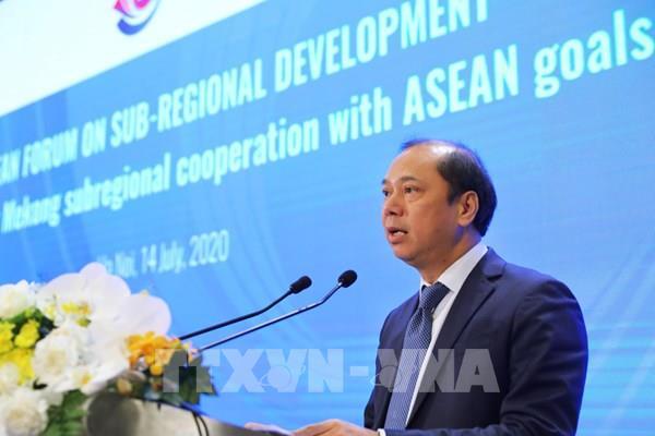 """Năm ASEAN 2020: """"Gắn kết hợp tác Mekong với các mục tiêu của ASEAN"""""""