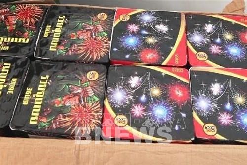 Quảng Trị: Phát hiện vụ vận chuyển trái phép pháo hoa qua biên giới 