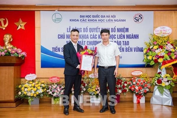 Khoa Các khoa học liên ngành (Đại học Quốc gia Hà Nội) có chủ nhiệm khoa mới