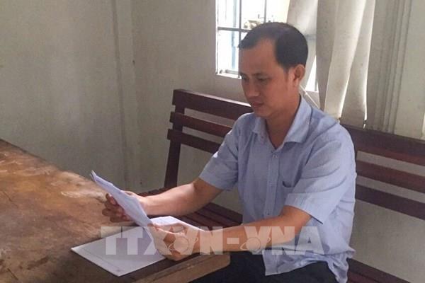 Bắt tạm giam Phó giám đốc Văn phòng đăng ký đất đai