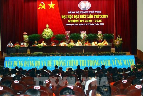 Thành phố Vinh sớm trở thành trung tâm kinh tế, văn hóa vùng Bắc Trung bộ