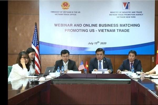 Kết nối giao thương giữa doanh nghiệp Việt Nam-Hoa Kỳ
