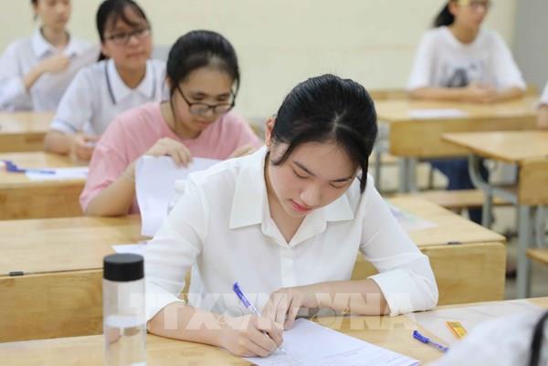 Công bố điểm chuẩn vào lớp 10 ở Hà Nội sớm hơn dự kiến