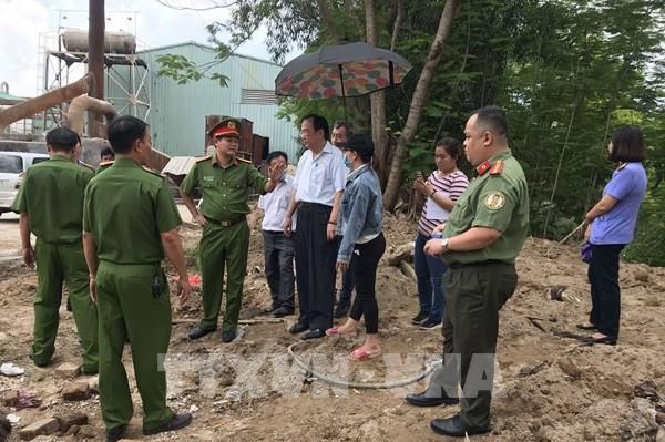 Đồng Nai: Điều tra công ty chôn lấp chất thải nguy hại trái quy định