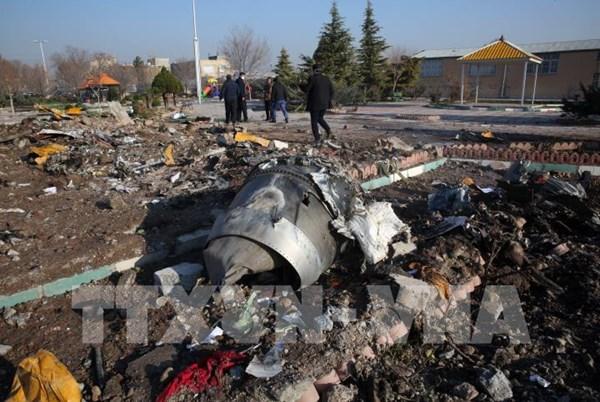 Hộp đen của máy bay Ukraine bị Iran bắn hạ được gửi tới Pháp