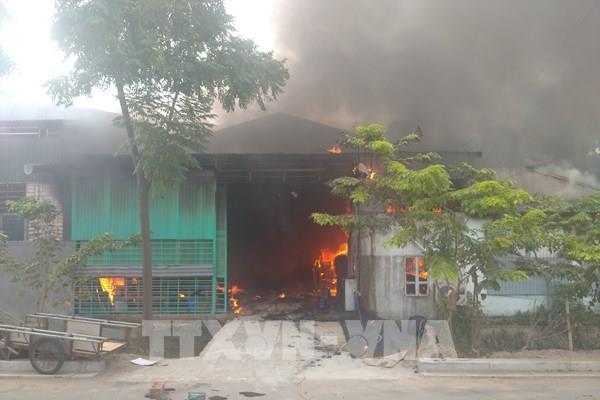 Hai đám cháy lớn gây thiệt hại về người và tài sản