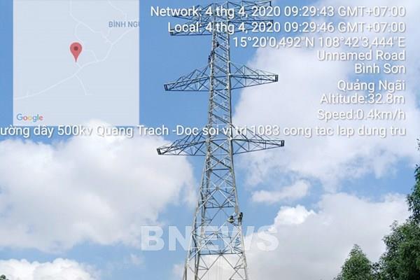 Đường dây 220 kV Đông Hà-Lao Bảo chậm tiến độ do vướng mặt bằng