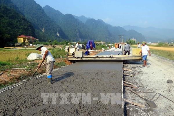 Sáng tạo trong xây dựng nông thôn mới ở các bản vùng biên giới
