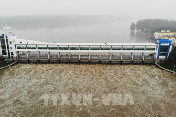 Trung Quốc nâng ứng phó khẩn cấp với lũ tại sông Hoài Hà lên mức cao nhất